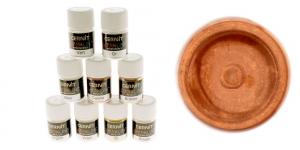 Pärlmutter- ja metallikefektiga pulber Cernit, 3g, Metallic copper 057