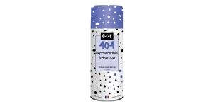 Liimaa-irrota-liimaa, siirrettävä aerosoliliima, Odif 404 Repositionable Adhesive, 250 ml