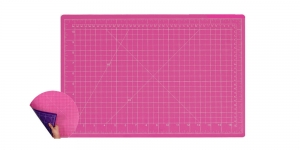 Cutting Mat, pink & purple, 45cm × 60cm SewMate 12122(AB)