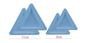 Pärlite, helmeste, kristallide sorteerimise-valamise kausside komplekt 4 tk, sametkattega, Beadalon 207A-051