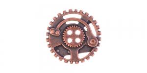 Antiikpronksjas, nelja auguga metallnööp, 30mm/48L, SF172