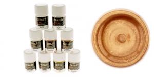 Pärlmutter- ja metallikefektiga pulber Cernit, 3g, Metallic bronze 058