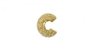 Pärlipiduri katted, Kuldne, 5mm, 349A-021