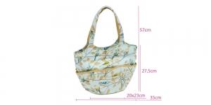Õlakott, nn käsitöötarvikute kott, Fly Away, (d/w/h): 21 x 40 x 32.5 cm, Hobby Gift HGBR\477