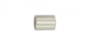 Hõbetatud pärlipidur,helmes, 2mm, JFCT3S-1Z