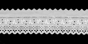 Broderie Anglaise Lace I692-01, 4 cm