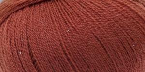 Peenvillane lõng Merino Lace; Värv 18 (Punakaspruun), Austermann