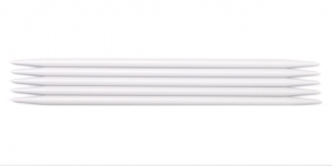 Double Pointed Plastic Knitting Needles, Pony Nr. 6,0, 20 cm