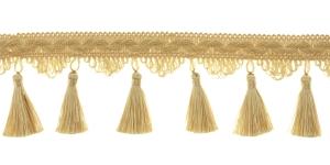 Kaunistuspael tuttidega / BPK-019 / Värv nr. PE-5, heledam kuldne, kreemjas