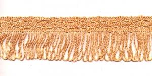 Lihtsad narmad pikkusega 5cm lainelise kaunistusservaga Oranžikaskollane