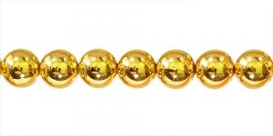 Kuldkollane ümar plasthelmes, BJ4 12mm