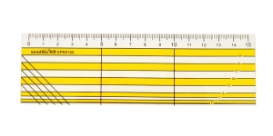 Clear View Ruler 5 cm x 15 cm, Kearing KPR5150, KL1199
