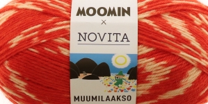Muumilaakso Sock Yarn, Novita, Colour 880