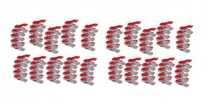 Kiinnitysklipsit ompelu- ja tilkkutöihiin, 100 kpl, Clover 3159