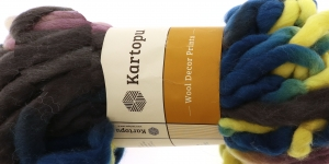 Villane viltimisheie-lõng Wool Decor Prints, 200g, 30m, Kartopu, värv D3154