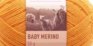 Woolen yarn Baby Merino, Novita, Colour 286