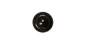 SG203 8 mm Must, kannaga nööp