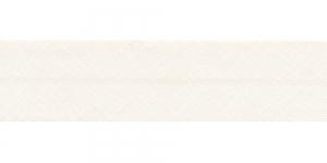 Diagonaalkant, puuvillane, 25mm, loodusvalge, värv 100211