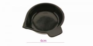 Pärlite & kristallide must sorteerimisalus-valamiskausike ø6cm