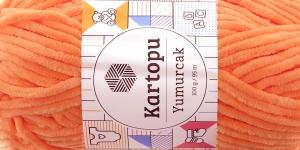 Sametlõng Yumurcak, Kartopu, värv YMD0003, virsikuroosa