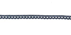 Puuvillane pits 3174-89 laiusega 0,8 cm, värv hallikassinine