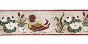 50mm Pael partide ja vesiroosidega, Kollane, punane