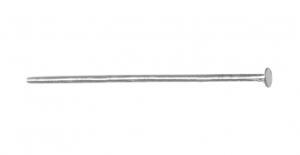 Ehtenael Antiikhõbedane, Antique Silver Flat Head Pin, 38mm, ED61