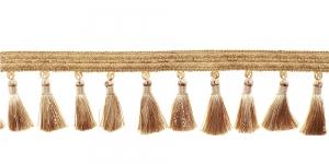 Soliidne kaunistuspael tuttidega, üldlaiusega 12cm, servas rombimuster, värv beež