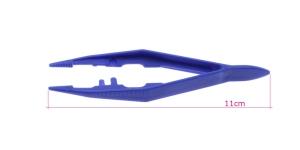 Plastikust pintsetid, 11cm, PK5715/TC10