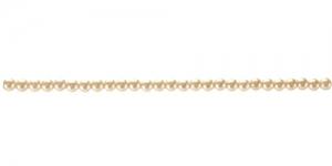 ø2,5mm ümar kollakasvalge pärlmutter plasthelmes, BH13A
