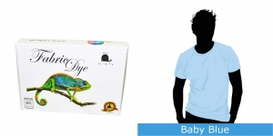 Vielo Washing Machine Fabric Dye, 200 g, Baby Blue