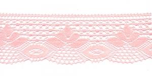 Puuvillane pits 3185-06 laiusega 7 cm, värv heleroosa
