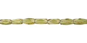 LN1145 12x7mm Samblaroheline, läbipaistev, pikuti auguga klaashelmes