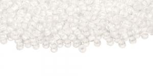 Värvitud, AB- läikega, valge sisuga terahelmed, TOHO, suurus: 8/0, värv: 777; 8-C-777