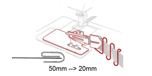 3-fold Binder 50 mm --> 20 mm, KL0448 PRO+