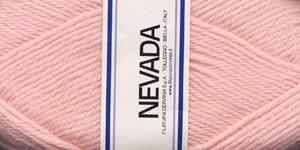 Poolvillane lõng Nevada; Värv 1203 (Beebiroosa), Lane Cervinia