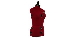 Reguleeritav rätsepa naismannekeen / Female Dress Form Diana-D Nr.52-58 (eriti suur)