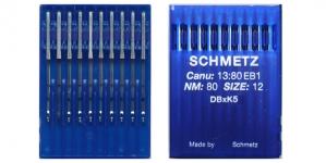 Proffessionaalse tikkimismasina nõel, 10 tk, Schmetz DBxK5 Nr.80 (Size.12)F2