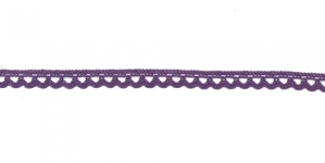 Puuvillane pits 3174-46 laiusega 0,8 cm, värv tumelilla