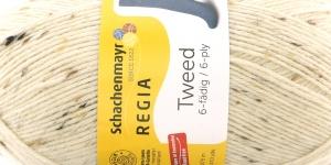 Sokilõng Regia Tweed 6-fädig 150g / värv nr. 2, kreemjas