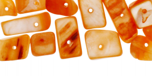 JF47 / Oranžikates toonides teokarbist helmed / 3-15mm