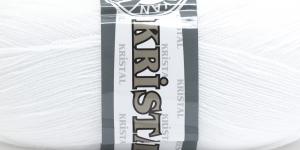 Akrüüllõng Kristal; Värv 000 (Valge), Madame Tricote