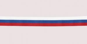 Vene lipuvärvides pael / Russian Flag Taffeta Lace / 20mm