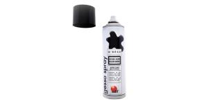 Must matt alusvärv, kruntvärv, aerosool, Odif Gesso Spray, 500 ml