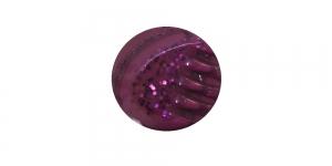 SN55 ø12 mm Tume roosakaslilla, hõbedase mustriga plastiknööp