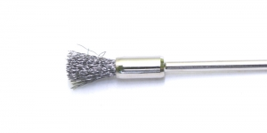 Roostevabast terasest hari, Stainless Steel Bristle Round Brush, 6 mm, TK12