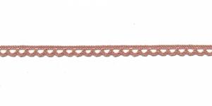 Puuvillane pits 3174-F3 laiusega 0,8 cm, värv vanaroosa