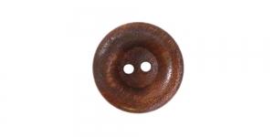 Pähklipruun puitnööp, 23mm, 36L, SB72 222