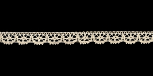 Puuvillane pits 3247-02 laiusega 1,5 cm, värv kreemjasvalge