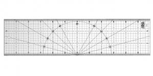 Joonlaud, Plastic Ruler 15cm x 60cm OLFA (Japan) MQR-15x60